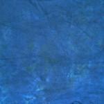 Färgning i blått med grönt sprayat över vått i vått.